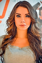 Ukrainian girl Elena,22 years old with brown eyes and dark brown hair.