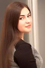 Ukrainian girl Natalia,20 years old with black eyes and dark brown hair.