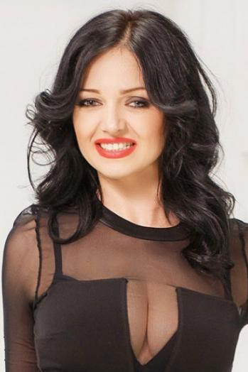 Ukrainian girl Inna,37 years old with grey eyes and dark brown hair.