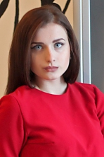 Ukrainian girl Alina,20 years old with blue eyes and light brown hair.