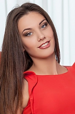 Ukrainian girl Lina,23 years old with grey eyes and dark brown hair.