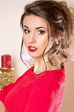 Ukrainian girl Viktoria,23 years old with green eyes and light brown hair.