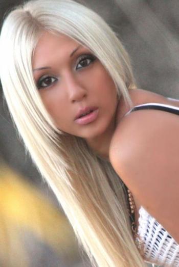 Ukrainian girl Nataliya,29 years old with brown eyes and blonde hair.