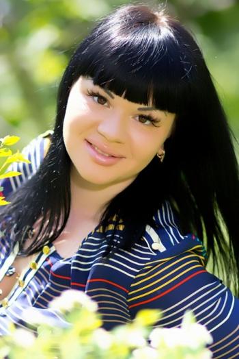 Ukrainian girl Ekaterina,26 years old with brown eyes and black hair.