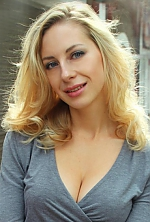 Ukrainian girl Anastasia,30 years old with blue eyes and blonde hair.