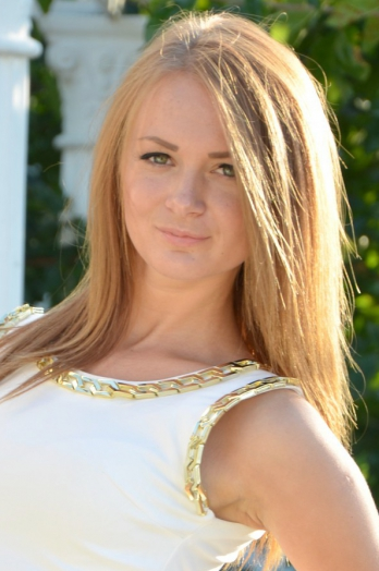 Ukrainian girl Inna,24 years old with green eyes and blonde hair.