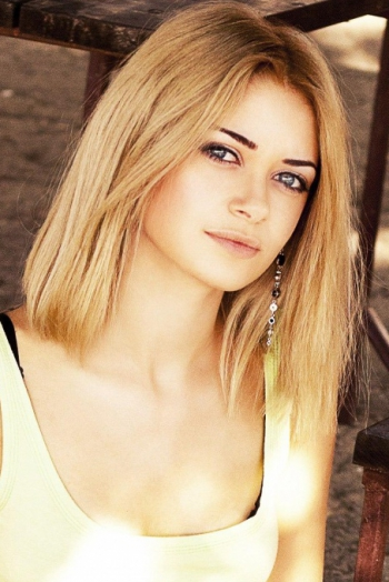 Ukrainian girl Victoria,26 years old with blue eyes and blonde hair.