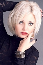 Ukrainian girl Natalia,26 years old with grey eyes and blonde hair.