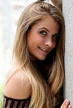 Ukrainian girl Bogdana,27 years old with blue eyes and blonde hair.