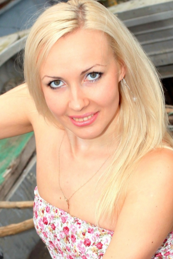 Ukrainian girl Lubov,29 years old with green eyes and blonde hair.