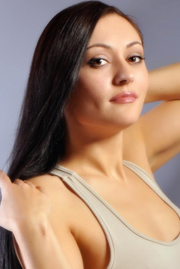 Ukrainian girl Natasha,35 years old with black eyes and black hair.