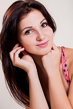 Ukrainian girl Ludmila,26 years old with brown eyes and black hair.