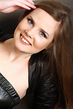 Ukrainian girl Victoria,26 years old with blue eyes and light brown hair.