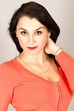 Ukrainian girl Julia,26 years old with brown eyes and black hair.