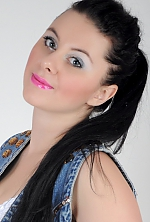 Ukrainian girl Victoriya,26 years old with green eyes and black hair.