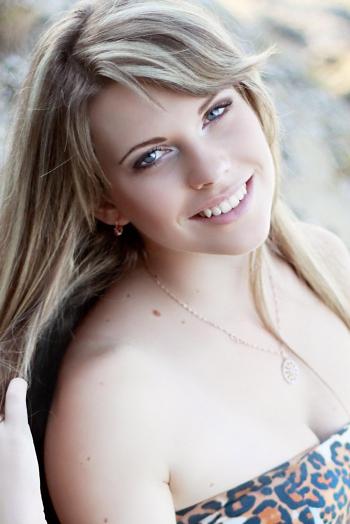 girl Yaroslava, years old with  eyes and  hair.