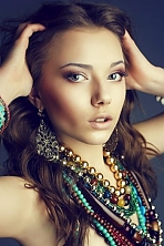 Ukrainian girl Anastasia,22 years old with  eyes and  hair.