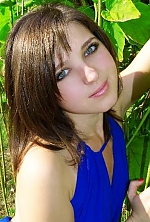 Ukrainian girl Katerina,25 years old with grey eyes and light brown hair.