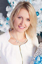 Ukrainian girl Kristina,29 years old with blue eyes and blonde hair.
