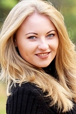 Ukrainian girl Viktoria,28 years old with blue eyes and blonde hair.