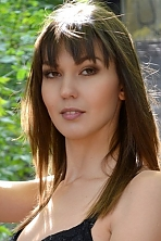Ukrainian girl Yana,30 years old with brown eyes and dark brown hair.