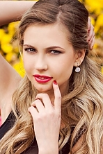 Ukrainian girl Elena,23 years old with blue eyes and blonde hair.