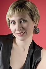 Ukrainian girl Inna,47 years old with green eyes and blonde hair.