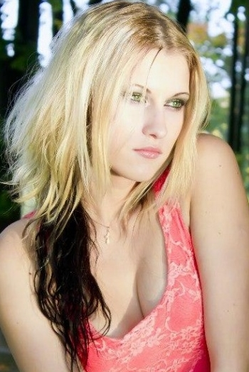 Belarusian girl Katerina,25 years old with hazel eyes and blonde hair.