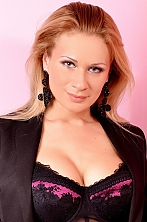Ukrainian girl Elena,36 years old with blue eyes and blonde hair.