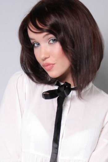 Ukrainian girl Ekaterina,28 years old with blue eyes and dark brown hair.