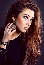 Ukrainian girl Ekaterina,28 years old with hazel eyes and dark brown hair.