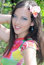 girl Anastasia, years old with  eyes and  hair.