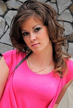 Ukrainian girl Elena,27 years old with hazel eyes and light brown hair.