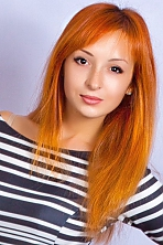 Ukrainian girl Marina,22 years old with hazel eyes and light brown hair.