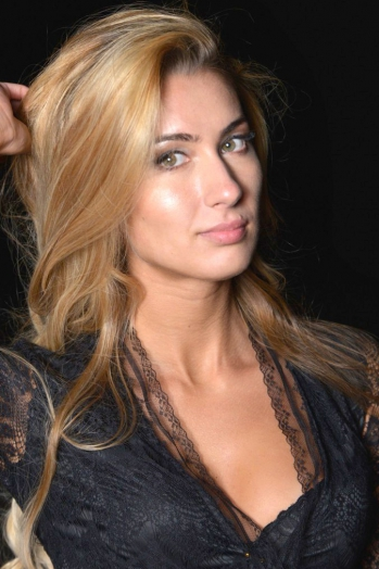 Ukrainian girl Natalia,26 years old with green eyes and blonde hair.