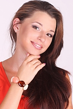 Ukrainian girl Daria,26 years old with brown eyes and dark brown hair.