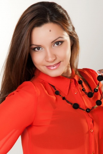 girl Yulia, years old with  eyes and  hair.