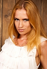 Ukrainian girl Anna,23 years old with hazel eyes and blonde hair.