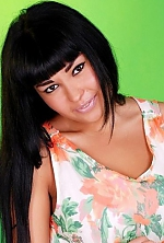 Ukrainian girl Maria,25 years old with black eyes and black hair.