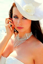 Ukrainian girl Nataliya,35 years old with green eyes and dark brown hair.