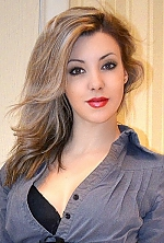 Ukrainian girl Marina,25 years old with brown eyes and blonde hair.