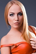 Ukrainian girl Tatiana,21 years old with blue eyes and blonde hair.