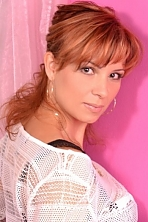 Ukrainian girl Olena,35 years old with brown eyes and light brown hair.