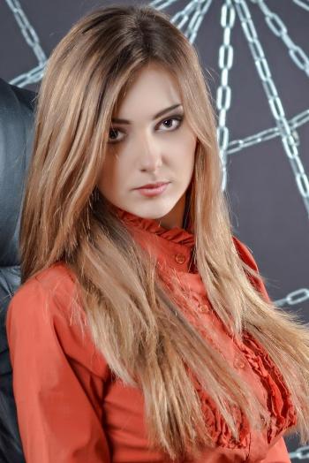 girl Vasilisa, years old with  eyes and  hair.
