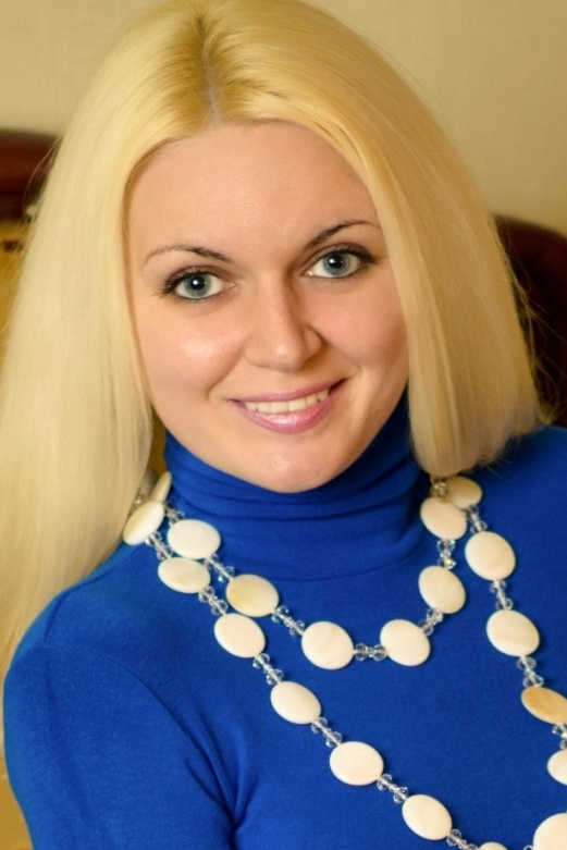 Ukrainian girl Nadejda,32 years old with blue eyes and blonde hair.