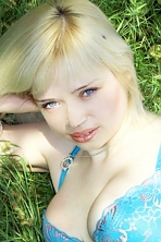 Ukrainian girl Natalia,32 years old with blue eyes and blonde hair.