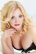 Ukrainian girl Nadezhda,33 years old with grey eyes and blonde hair.
