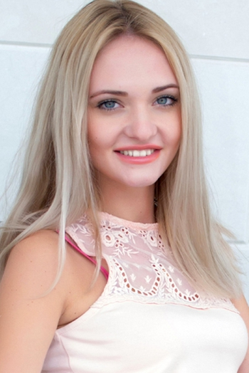 Ukrainian girl Taisia,24 years old with blue eyes and blonde hair.