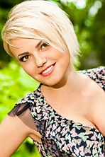 Ukrainian girl Marina,26 years old with brown eyes and blonde hair.
