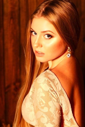 Ukrainian girl Anastasia,25 years old with blue eyes and blonde hair.
